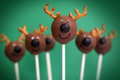 Christmas cake pop ideas
