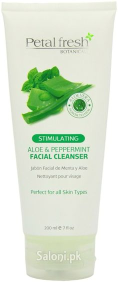 PETAL FRESH BOTANICALS ALOE & PEPPERMINT FACIAL CLEANSER 200 ML Saloni™ Health