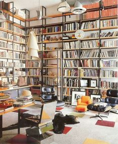 Built In Bookcase Kits Lovely Home Library Bookshelves Home Library Work Space Home Beautiful Library, Dream Library, Future Library, Library Work, Modern Library, Library Ideas, Home Libraries, Design Moderne, Large Homes
