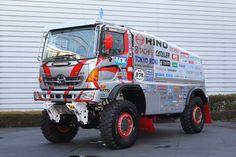 rally dakar 2015 - Hino 500-Series trucks