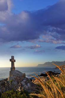The coastal road from Gordon's Bay to Kleinmond – South Africa
