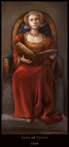Anne of Cleves (fourth wife of Henry VIII) by Kristina Gehrmann on deviantART Uk History, History Of England, Tudor History, British History, Asian History, History Facts, Ana De Cleves, Anne Of Cleves, Anne Boleyn