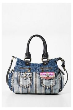 BOLSO LONDON MINI EXOTIC JEANS (4)