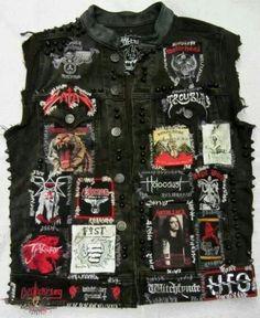James Hetfield Battle jacket