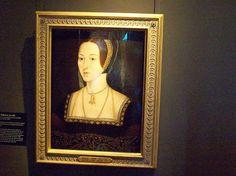 Portrait of Anne Boleyn Anne Boleyn at Hampton Court Palace