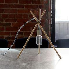 Simple DIY Tripod Lamp