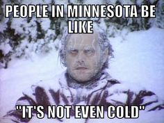-40? Puhhhhlease, I'm still in shorts. #minnesota