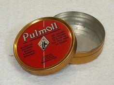 Vintage Dosen - Vintage PULMOLL-Dose - ein Designerstück von Willi13 bei DaWanda