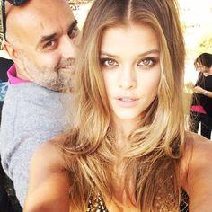 Nina Agdal Selfie