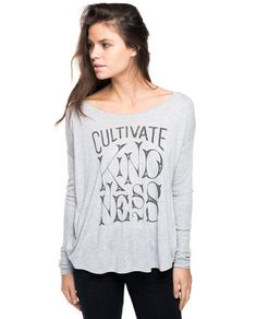 Cultivate Kindness Flowy Long Sleeve Tee – Sevenly