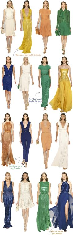 Elie Saab, love so many of his looks, not all but many