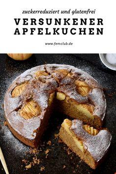 French Toast, Breakfast, Food, Oat Flour Recipes, Healthy Gluten Free Recipes, Healthy Cake, Gluten Free Apple Pie, Batter Recipe, German Apple Cake