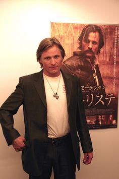映画「アラトリステ」についてインタビューに答えるヴィゴ・モーテンセン♡