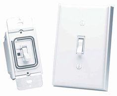 Basic Add-on Wireless Light Switch Adapter Kit