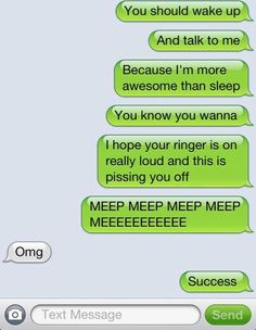 In this post i am going to show you 150 funny good morning texts. These funny good morning messages for friends and family are guaranteed t. Funny Texts To Send, Funny Texts Jokes, Text Jokes, Cute Texts, Funny Text Messages, Stupid Funny, Humor Texts, It's Funny, Funny Humor