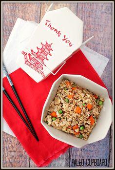 Paleo Fried Rice Recipe - www.PaleoCupboard.com