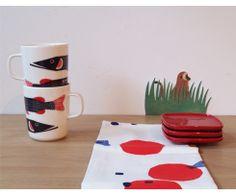 Marimekko fish mug