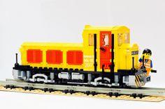 Mk48 narrow gauge MOC | Flickr - Photo Sharing! Legos, Toys For Boys, Boy Toys, Lego Kits, Lego Trains, Lego Military, Custom Lego, Cool Lego, Lego Creations