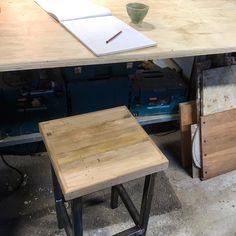 Steel wood My Furniture, Drafting Desk, Workshop, Pottery, Steel, Wood, Home Decor, Ceramica, Atelier