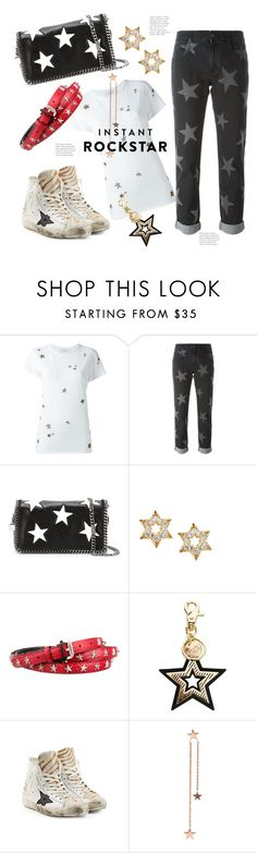 """New Season Star Buys ;)"" by hattie4palmerstone ❤ liked on Polyvore featuring Valentino, STELLA McCARTNEY, Lana, Just Cavalli, See by Chloé, Golden Goose and StylePrediction"