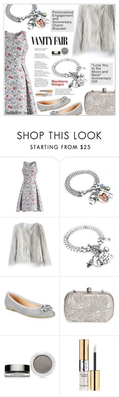 """""""Vanity Fair"""" by shambala-379 ❤ liked on Polyvore featuring Chicwish, Vanity Fair, Badgley Mischka, La Regale, Clarins and Yves Saint Laurent"""