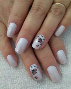 Diana, Nails, Beauty, Floral, Work Nails, Nail Art, Fingernail Designs, Finger Nails, Ongles