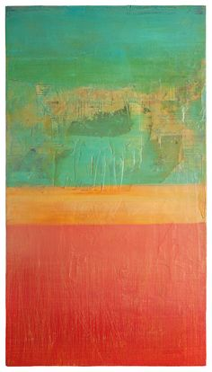 ORIGINAL Abstract Contemporary Painting Textured by RACEPONYstudio, $125.00