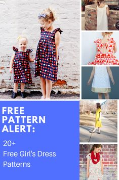 New baby girl clothes diy free pattern style Ideas Kids Dress Patterns, Sewing Patterns For Kids, Sewing Ideas, Sewing Projects, Pattern Sewing, Clothes Patterns, Free Girl, Free Sewing, Diy Clothes
