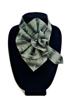 Elegante Geoffrey Beene Damen Seide Krawatte von JudysLittleShop