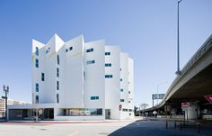 The New Carver Apartments in Los Angeles, designed by Michael Maltzan Architecture, Inc. for the Skid Row Housing Trust IN: This is what housing for the homeless could actually look like