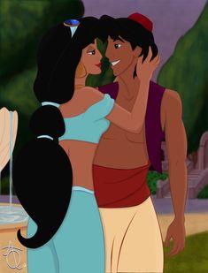 Jasmine & Aladdin by Amber Quattlebaum [©2012]
