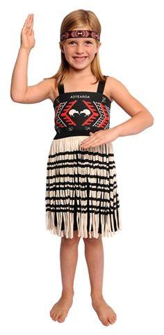 Girl's Kapa Haka Maori Costume-Medium *** Learn more by visiting the image link. Fashion Sale, Star Fashion, Fashion Beauty, Fashion Outfits, Dress Up Costumes, Dance Costumes, Fashion Blog Names, Maori Designs, Fashion Background