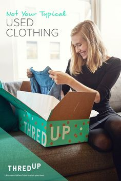thredUP is your one-stop secondhand shopping destination. There are hundreds of high-quality, like-new arrivals every minute, so there's always something fun to find. Get all your favorite brands for women and kids at up to 90% off retail.