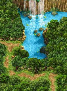 Fleuri Area - Sireans Lake by playabledreams