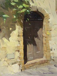 Colley Whisson     San Gimignano Shadows, Italy