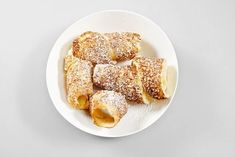 Trdelník - Mňamky-Recepty.sk Croissants, French Toast, Bakery, Sandwiches, Good Food, Rolls, Sweets, Cookies, Breakfast