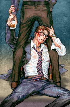 - Agents lesson -  (Kingsman: The Secret Service - Eggsy Unwin)