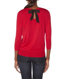 Bow Back Sweater | Women's Sweaters | THE LIMITED