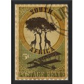 Found it at Wayfair - South Africa Postage Stamp Wall Art