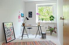 Escritório planejado ou Home Office em pouco espaço