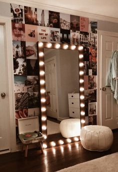 80 dorm room inspiration decor ideas 56 is part of Room decor - Cute Bedroom Ideas, Cute Room Decor, Room Ideas Bedroom, Teen Room Decor, Bedroom Inspo, Trendy Bedroom, Decor For Small Bedroom, Ideas For Bedrooms, Lighting Ideas Bedroom