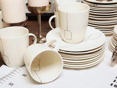 Tea bag tea cups.