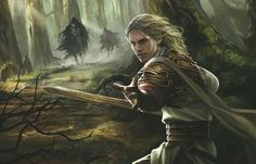 Glorfindel I think? Not sure, but it's cool anyway!