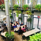 Jardin Nelson - terrace restaurant in Old Montreal Terrace Restaurant, Old Montreal, Plants, Plant, Planets