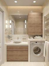 50 best farmhouse bathroom vanity remodel ideas (79)