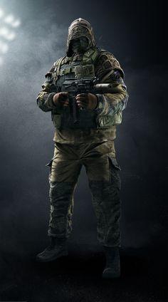 Kapkan. Spetsnez. Base Game Operator. Special  Three EDD MKII tripwires. Three Armor One Speed Defender. Kapkan has an elite skin with a custom MVP animation.