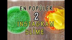 En Popüler Ses Çıkaran 2 İnstagram Slime Yapılışı