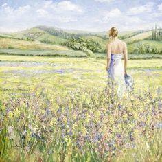karen wallis art   Karen Wallis - Fields of Gold (large image)