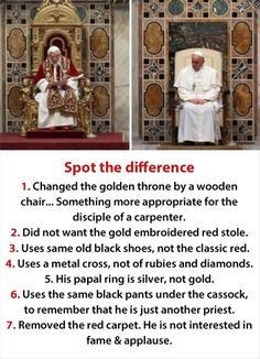 Pope Francis is the epitome of papal legacy & has brought back true meaning to Catholicism in the Vatican