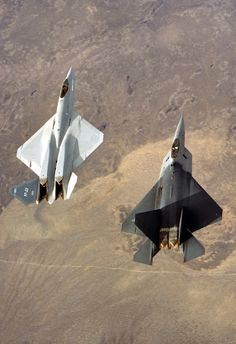 XF-22 and XF-23